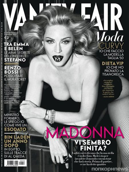 Мадонна в журнале Vanity Fair Италия. Май 2012