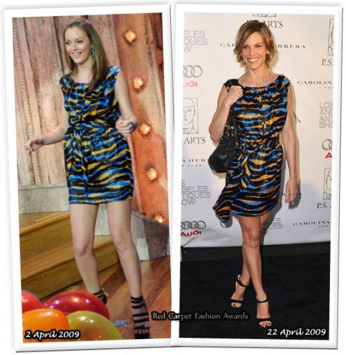 Fashion battle: Лейтон Мистер и Хилари Суонк