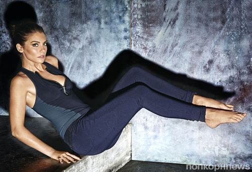 Фото: звезда «Ходячих мертвецов» Лорен Коэн в фитнес-фотосессии для Shape