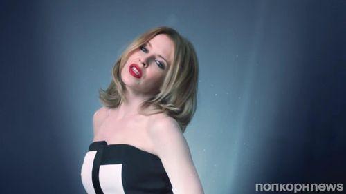 """Новый клип Кайли Миноуг на песню """"Crystallize"""""""