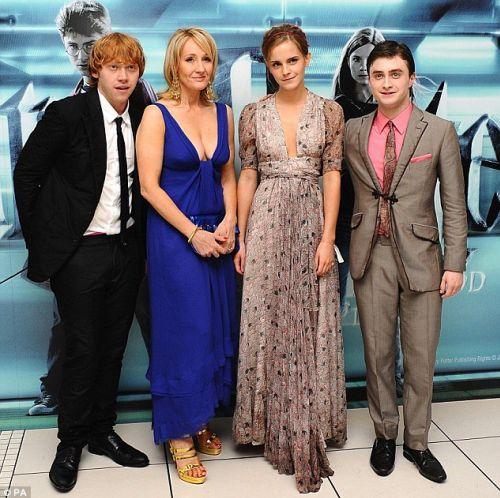 Лондонская премьера «Гарри Поттер и Принц-полукровка»