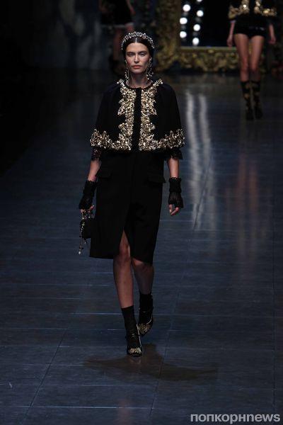 Модный показ Dolce & Gabbana. Осень / зима 2012-2013