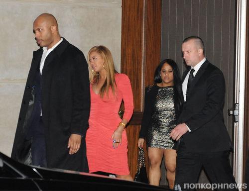 Бейонсе и  Jay-Z в Карнеги-холле