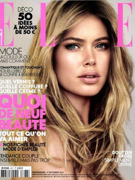 Даутцен Крез в журнале Elle. Франция. Октябрь 2010