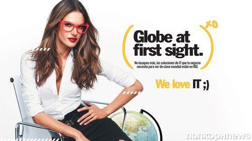 Алессандра Амбросио в рекламной кампании KIO Networks