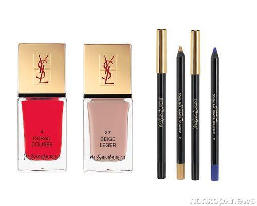 Новая коллекция декоративной косметики Yves Saint Laurent. Лето 2012