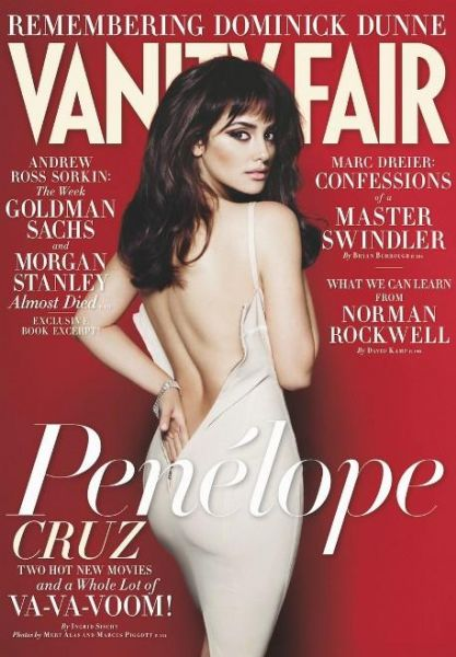 Пенелопа Крус в журнале Vanity Fair. Октябрь 2009
