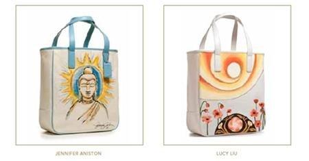 """Дизайн """"благотворительных"""" сумок от звезд"""