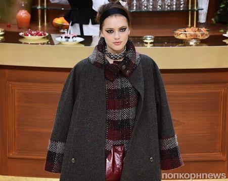 Модный показ новой коллекции Chanel. Осень / зима 2015-2016