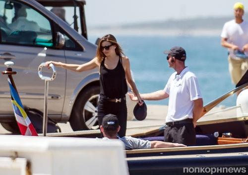 Миранда Керр на яхте с новым бойфрендом