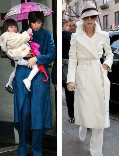 Кэти Холмс опять копирует стиль своей подруги
