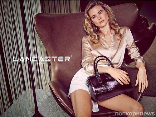 Бехати Принслу в рекламной кампании Lancaster. Весна 2015
