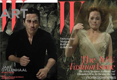 Марго Робби и Джейк Джилленхол в журнале W Magazine. Декабрь 2014