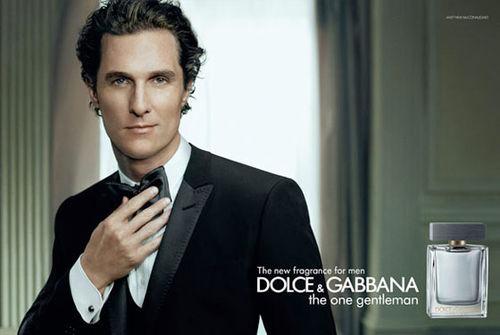 Мэттью МакКонохи в рекламе туалетной воды Dolce & Gabbana