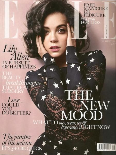 Лили Аллен в журнале Elle Великобритания. Август 2011