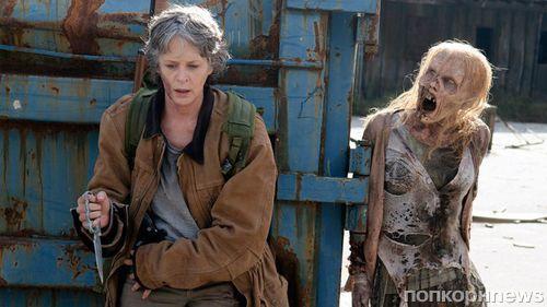 «Ходячие мертвецы» четвертый год подряд становятся самым рейтинговым сериалом