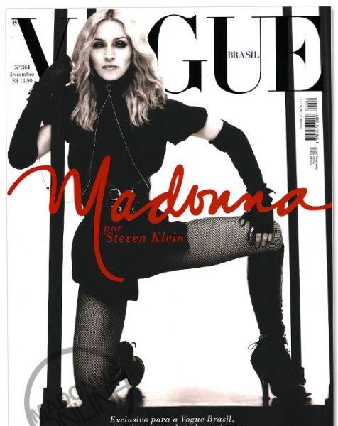 Мадонна в Vogue Brazil. Декабрь 2008