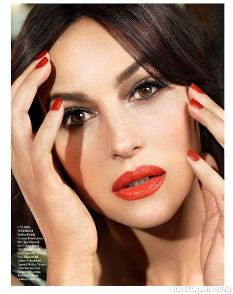 Моника Беллуччи в журнале Vogue Испания. Май 2012