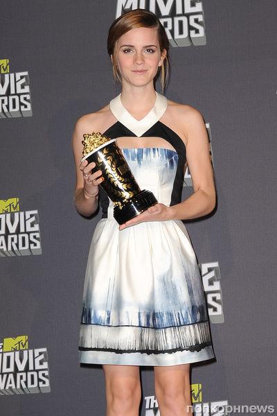 Звезды на церемонии MTV Movie Awards 2013
