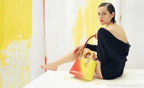 Марион Котийяр в рекламной кампании Lady Dior. Осень / зима 2013-2014