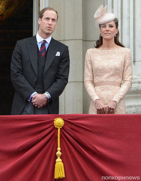 Принц Уильям и Кейт Миддлтон отмечают королевский юбилей