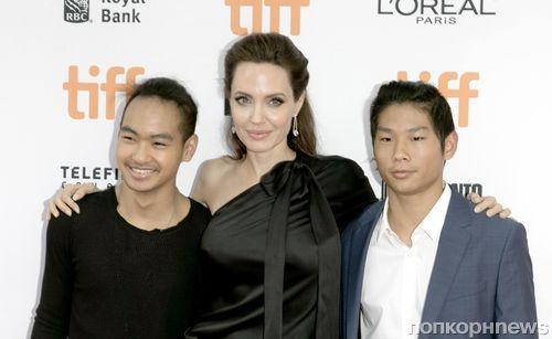 Анджелина Джоли уверена, что ее дети добьются успеха в Голливуде