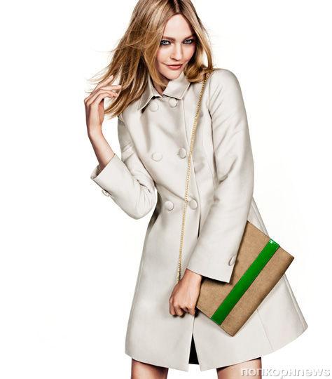 Саша Пивоварова в рекламной кампании H&M. Весна / лето 2012