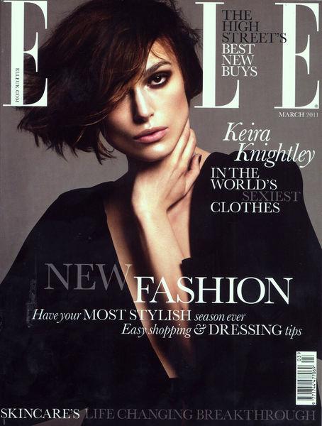 Кира Найтли в журнале Elle. Март 2011