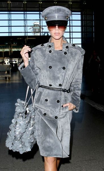 Виктория Бэкхем: полиция моды в аэропорту