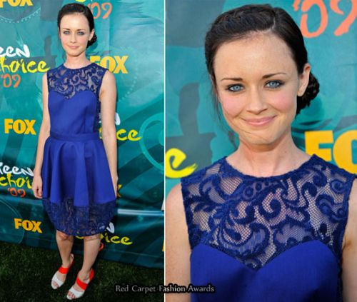 Лучшие наряды на Teen Choice Awards 2009