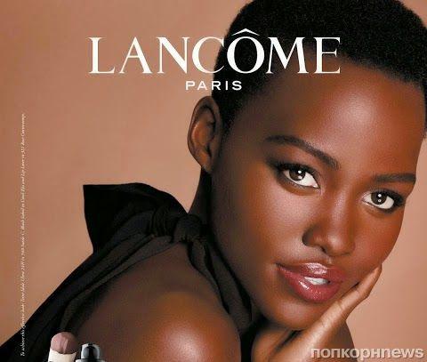 Люпита Нионго в рекламной кампании Lancome Beauty: первый взгляд