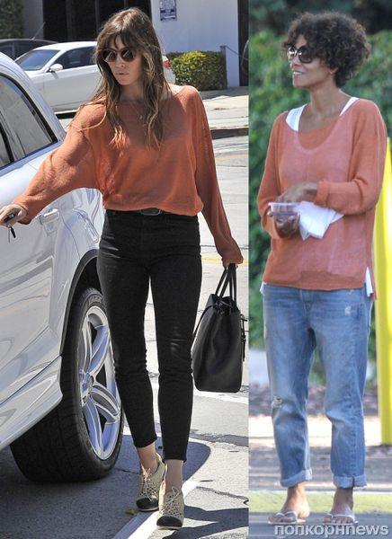 Fashion battle: Джессика Бил и Халли Берри