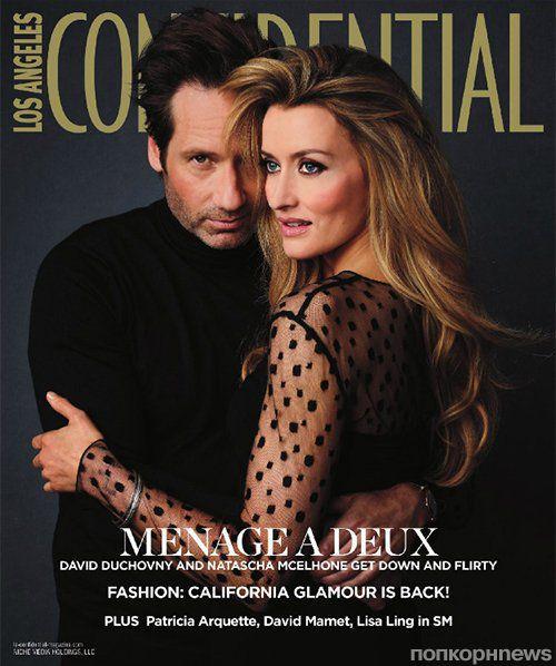 Дэвид Духовны в журнале Los Angeles Confidential. Сентябрь 2012
