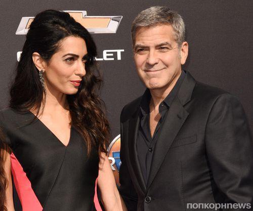 У Амаль и Джорджа Клуни родились сын и дочка