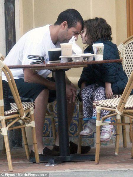 Адам Сэндлер с дочерью