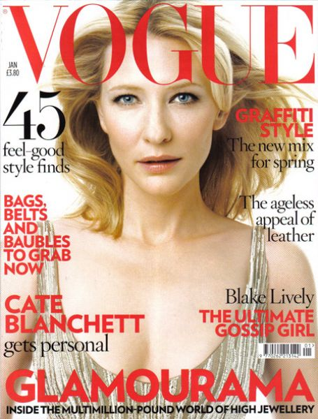 Кейт Бланшетт в журнале Vogue. Великобритания. Январь 2009