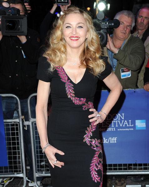 Мадонна на кинофестивале в Лондоне