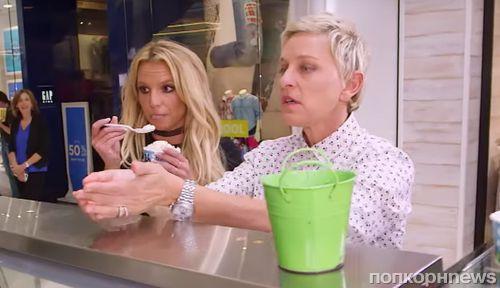 Видео: Эллен ДеДженерес учит Бритни Спирс поведению «избалованной звезды»