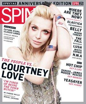 Кортни Лав в журнале SPIN. Mарт 2010