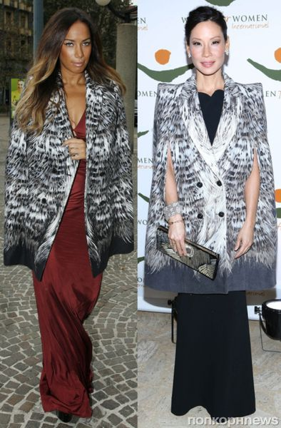 Fashion battle: Леона Льюис и Люси Лью