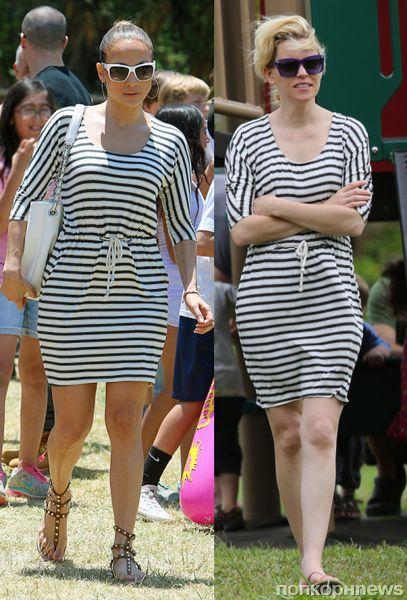 Fashion battle: Дженнифер Лопес и Элизабет Бэнкс