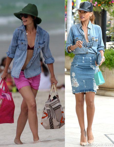 Fashion battle: Кэти Холмс и Рианна