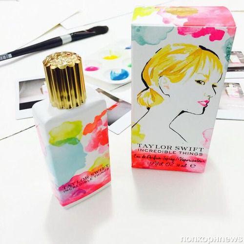 Тейлор Свифт выпускает новый аромат Incredible Things
