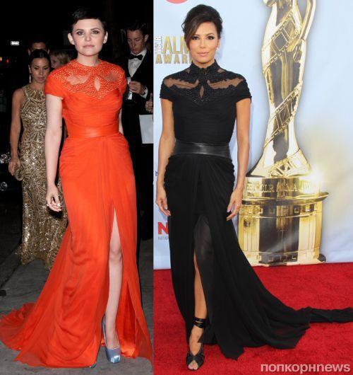 Fashion battle: Джиннифер Гудвин и Ева Лонгория