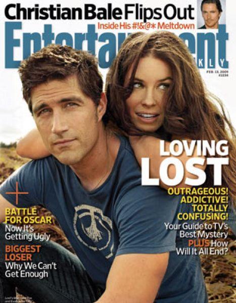 Евангелина Лили и Мэттью Фокс в фотосессии Entertainment Weekly
