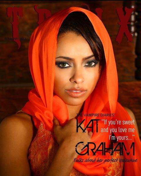 Кэтрин Грэхем в журнале Troix. Февраль 2011