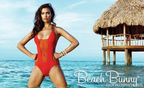 Ирина Шейк в рекламной кампании Beach Bunny. Осень / зима 2013-2014