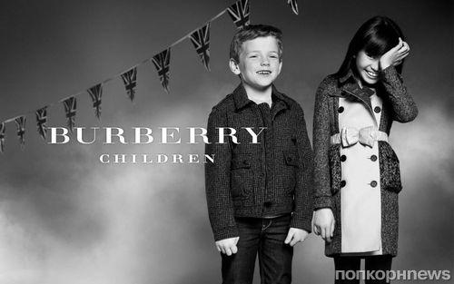 Детская коллекция Осень-Зима Burberry