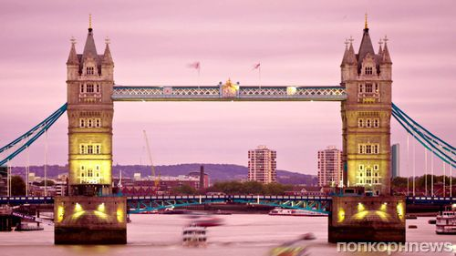 Достопримечательности Лондона окрасят в розовый в связи с рождением принцессы