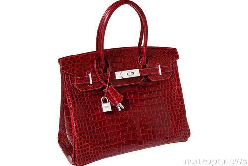 Сумка от Hermès ушла с аукциона за 203 тысячи долларов